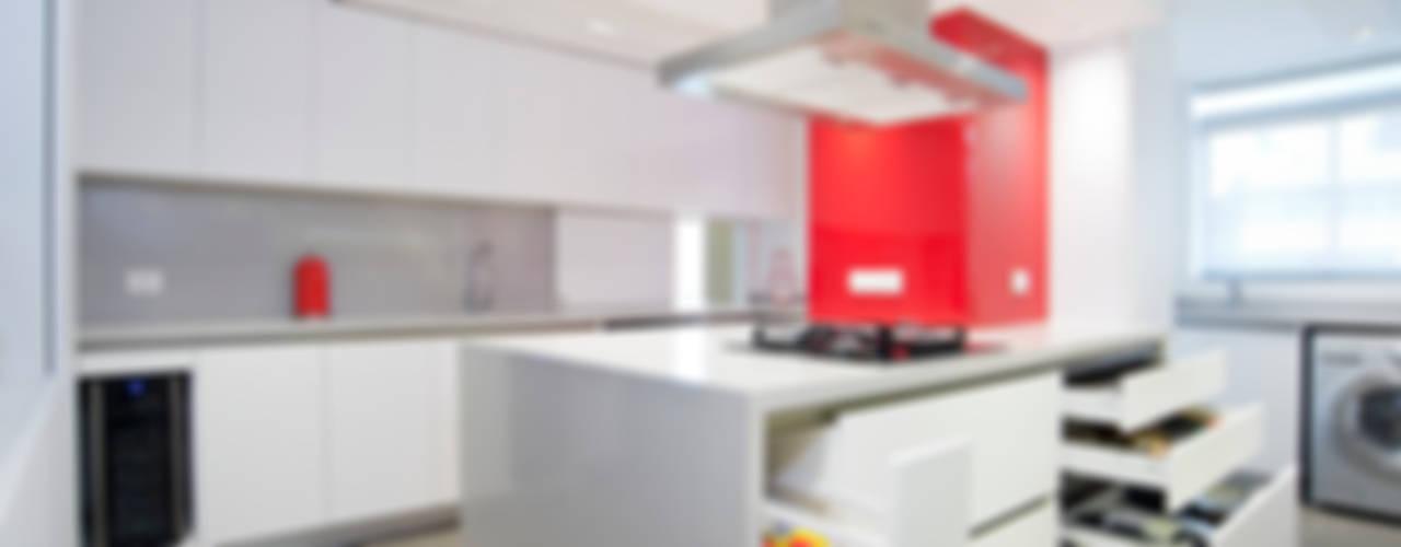 REMODELACION COCINA MOV Cocinas de estilo minimalista de BMRG arquitectos Minimalista