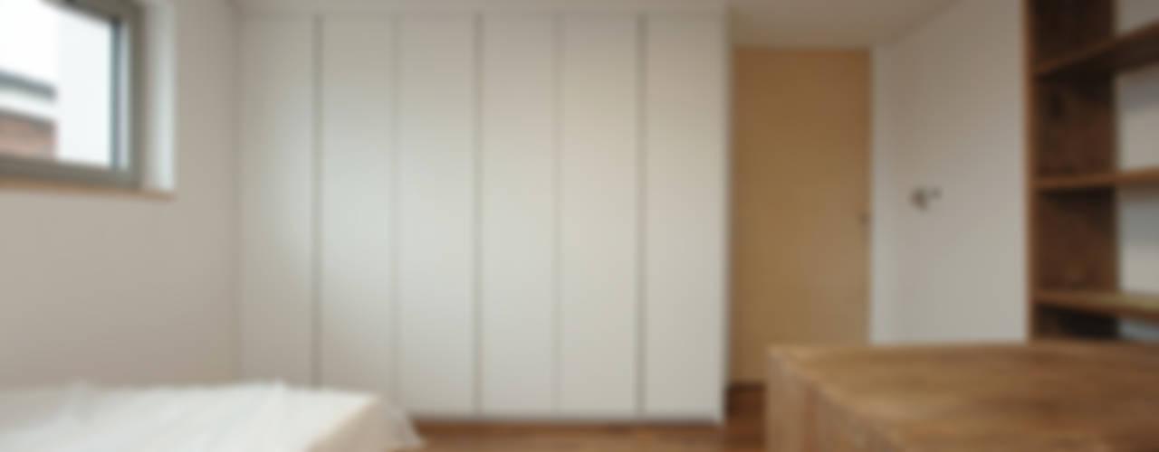 평창동 주택 (Pyeongchangdong House) 위빌 모던스타일 침실