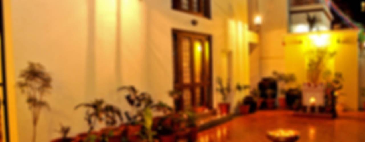 Dhiren Tharnani IMAGE N SHAPE Moderne gangen, hallen & trappenhuizen