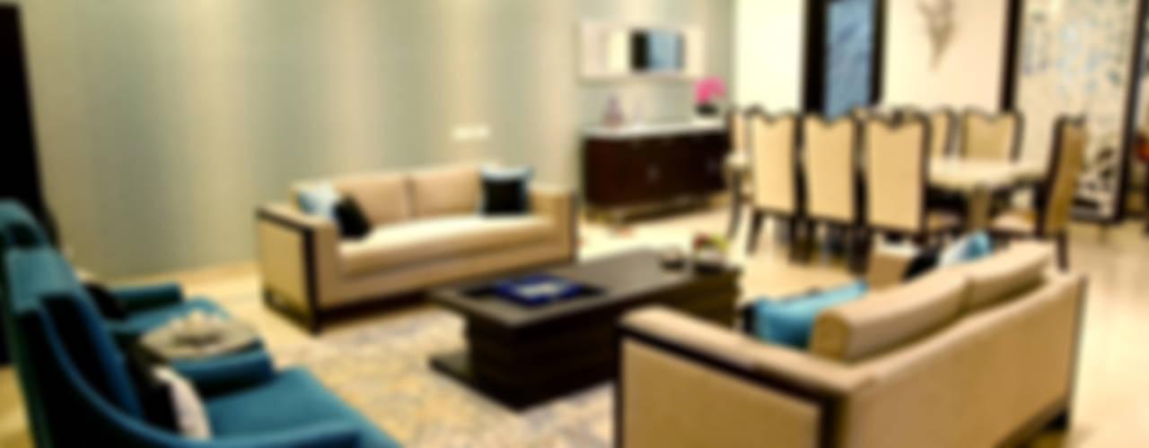 Residence: modern  by renu soni interior design,Modern