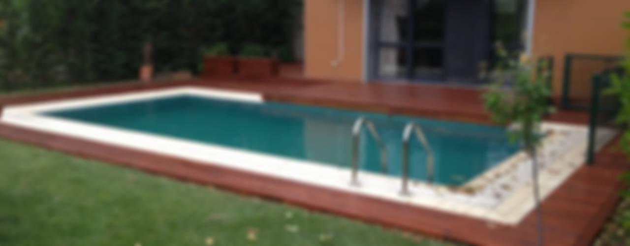 Jardin moderne par As3 Orman Ürünleri San Ve Tic Ltd Şti Moderne