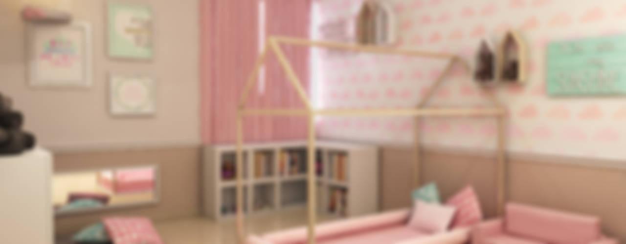 Residencia MR Dormitorios infantiles modernos de Interiorisarte Moderno