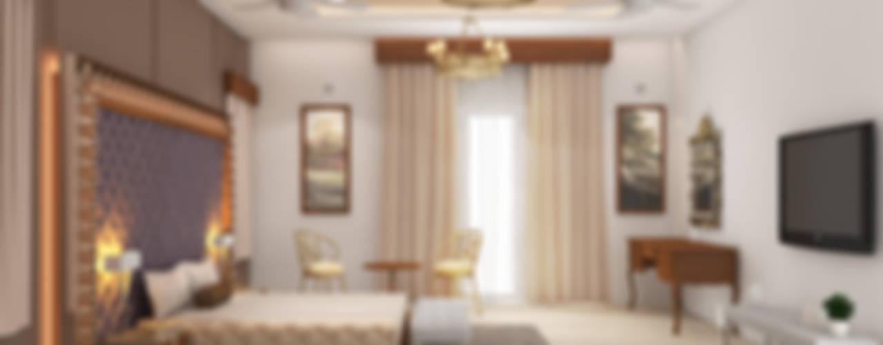 Mr. Ramesh Residence at Neyveli Modern style bedroom by Dwellion Modern