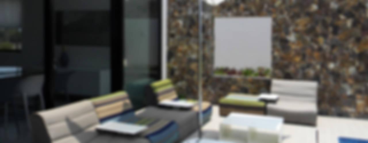 Villa Amanda, Acapulco de MAAD arquitectura y diseño Ecléctico