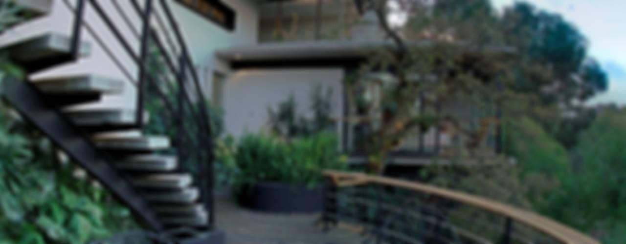 Balcones y terrazas modernos: Ideas, imágenes y decoración de RIMA Arquitectura Moderno