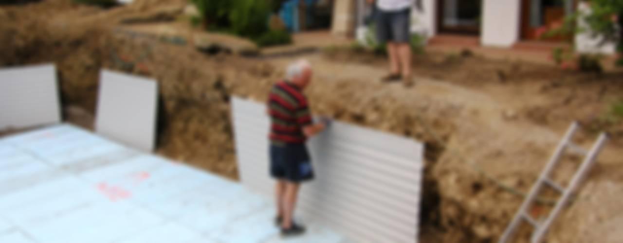 Paso a paso c mo hacer una pileta genial en el patio de casa for Como hacer una pileta de material paso a paso