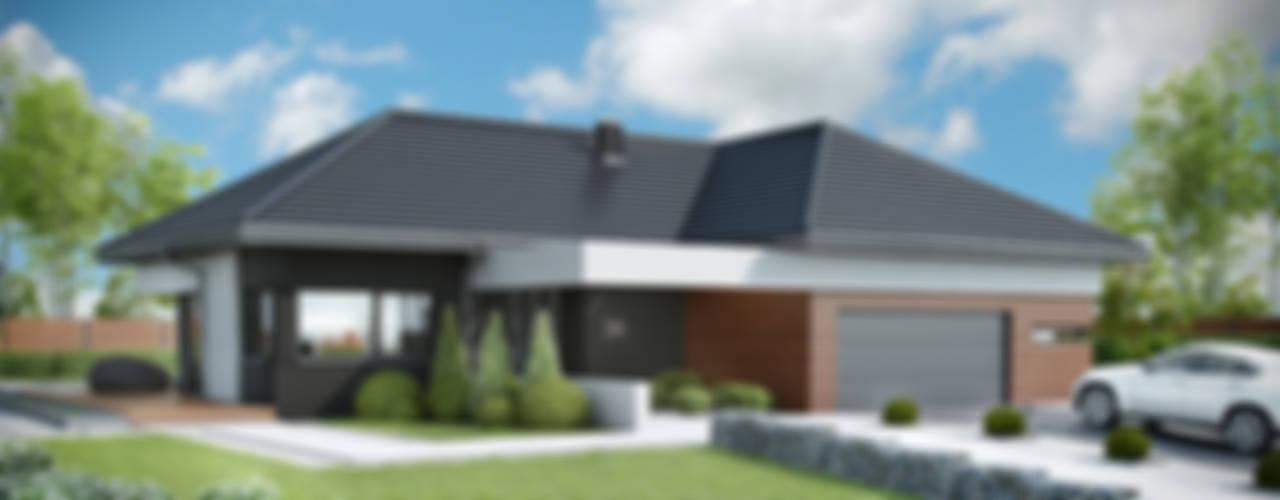 Projekt domu HomeKONCEPT 36 od HomeKONCEPT | Projekty Domów Nowoczesnych Nowoczesny