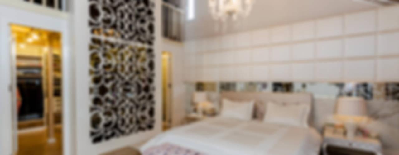 BILGE & AHMET SEZER EVI Klasik Yatak Odası Mimoza Mimarlık Klasik