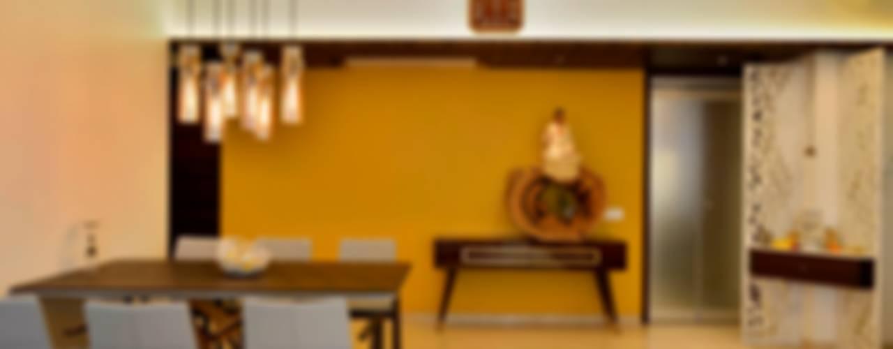 Minimalist dining room by homify Minimalist