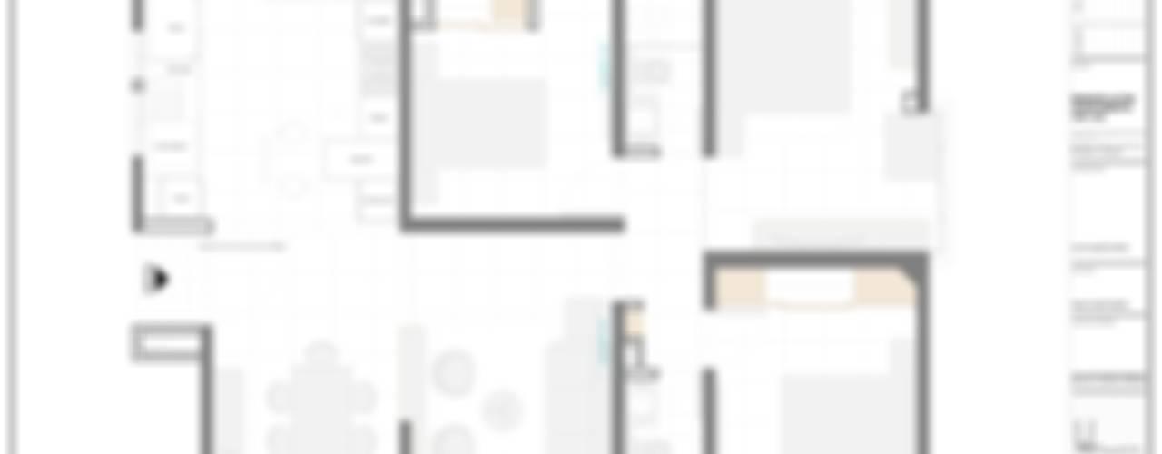 Apartamento Iroka 1201:  de estilo  por John Robles Arquitectos