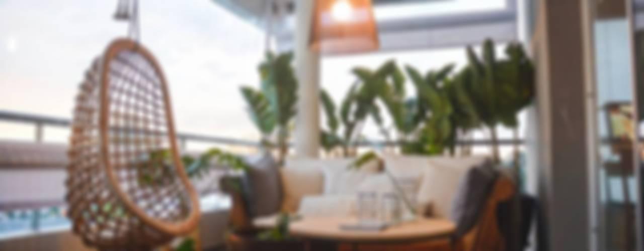 Griscan diseño iluminación 陽台、門廊與露臺 照明