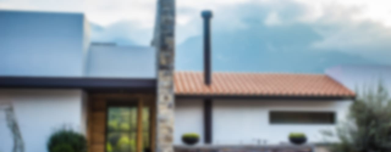 Modern Evler ICAZBALCETA Arquitectura y Diseño Modern