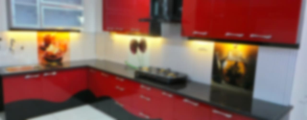 Cocinas de estilo moderno por Shadab Anwari & Associates.