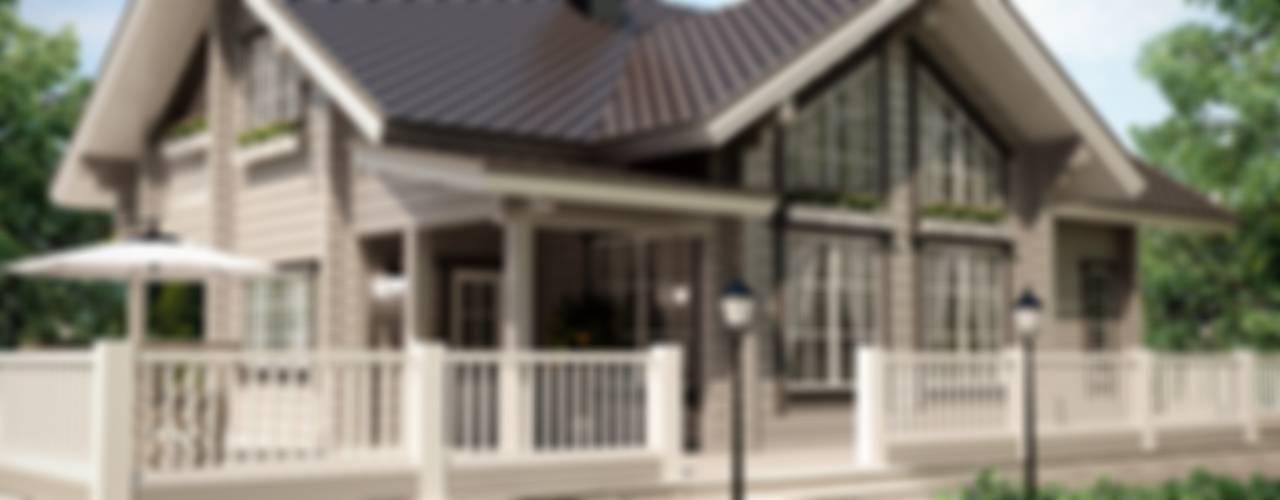 Монте: Дома в . Автор – EcoHouse Group