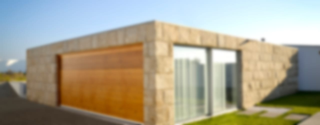 Garajes minimalistas de PFS-arquitectura Minimalista