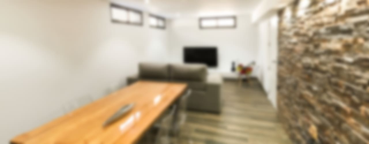 Salas modernas de arqubo arquitectos Moderno