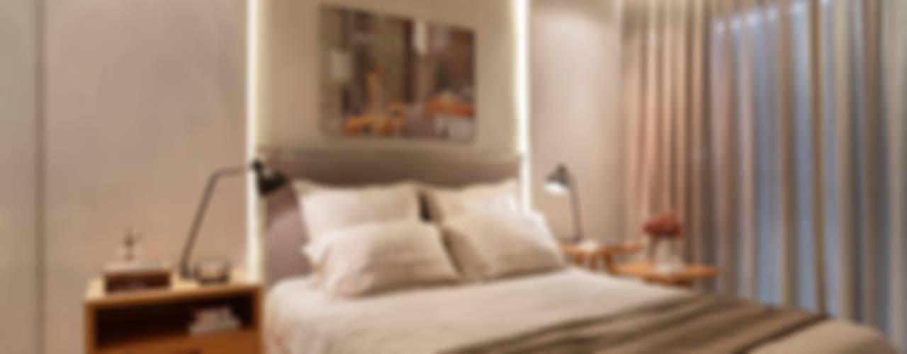 Apartamento decorado Calper Chambre moderne par Gisele Taranto Arquitetura Moderne