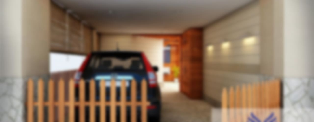 Interior design:  Garage/shed by Eternity Designers