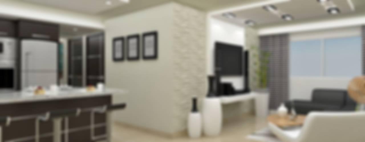 Modern Kitchen by om-a arquitectura y diseño Modern