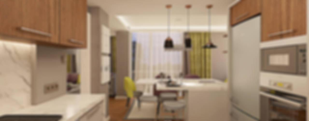 Modern Kitchen by Ofis 352 Mimarlık Hizmetleri Modern