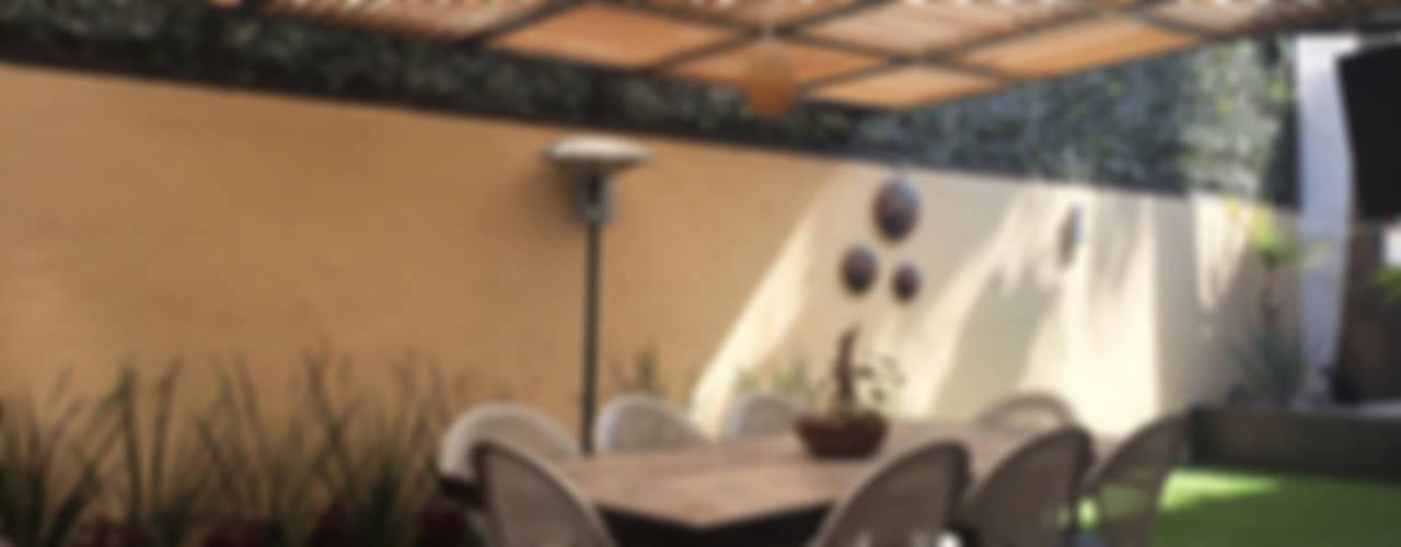Jardines de estilo moderno de AMG Arquitectura Integral Moderno