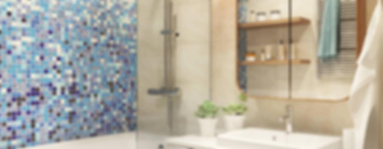 Bathroom by Polygon arch&des, Minimalist