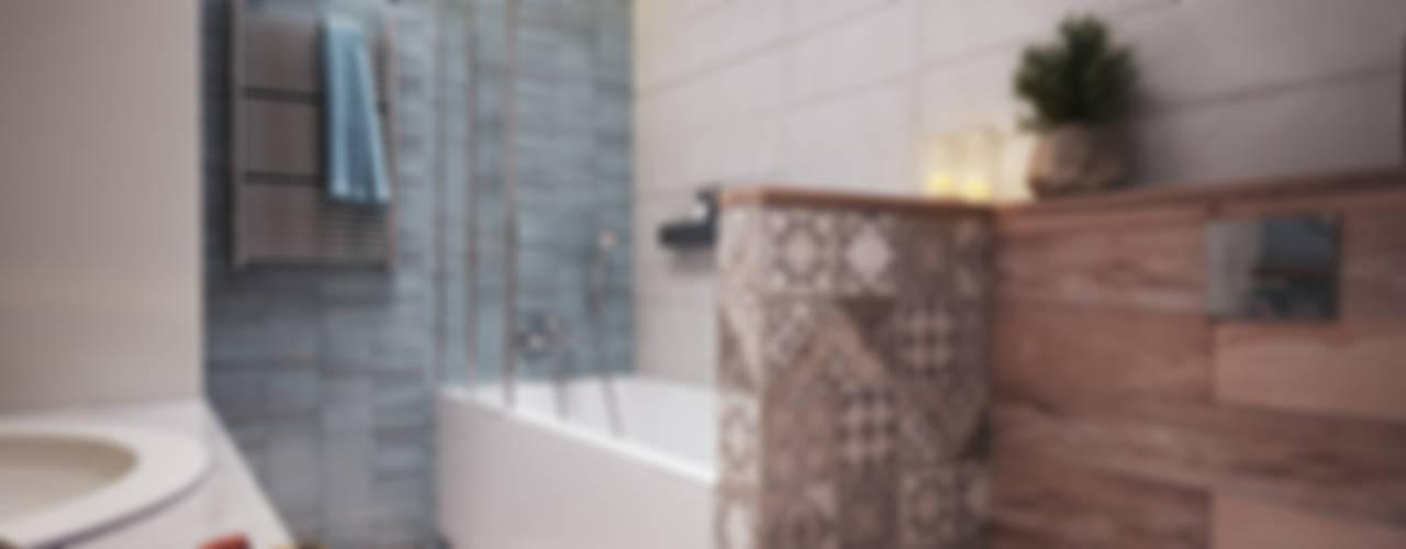 Scandinavian style bathroom by Polygon arch&des Scandinavian
