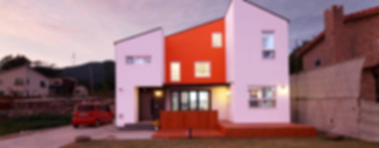 세아이의 보물섬 - 이천 지석리주택 모던스타일 주택 by 주택설계전문 디자인그룹 홈스타일토토 모던