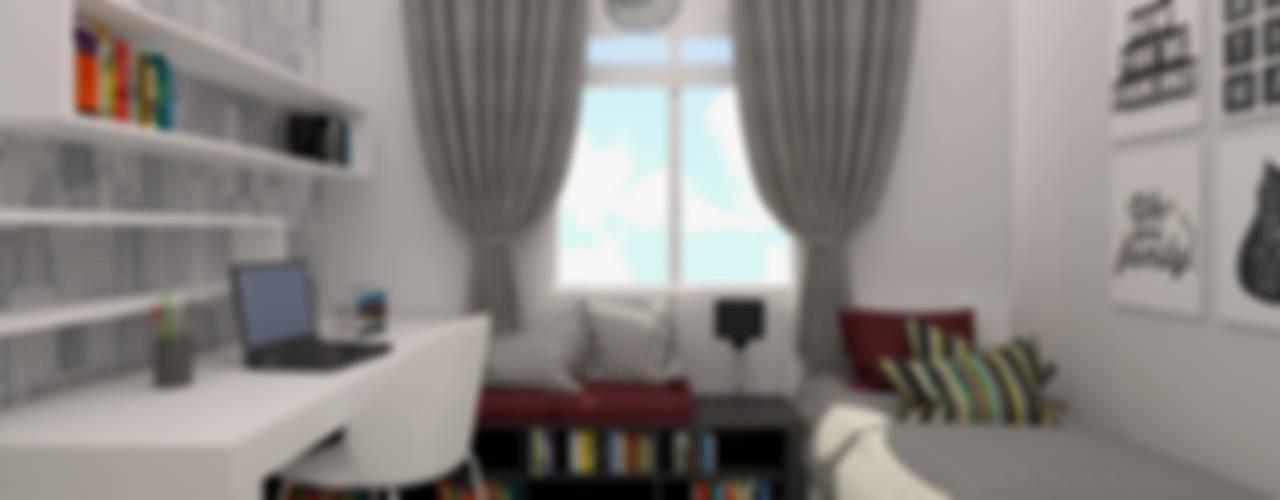 ESA PARK İÇ MİMARLIK – LBC İNŞAAT- AYDINLIKEVLER ÖRNEK DAİRE :  tarz Çocuk Odası