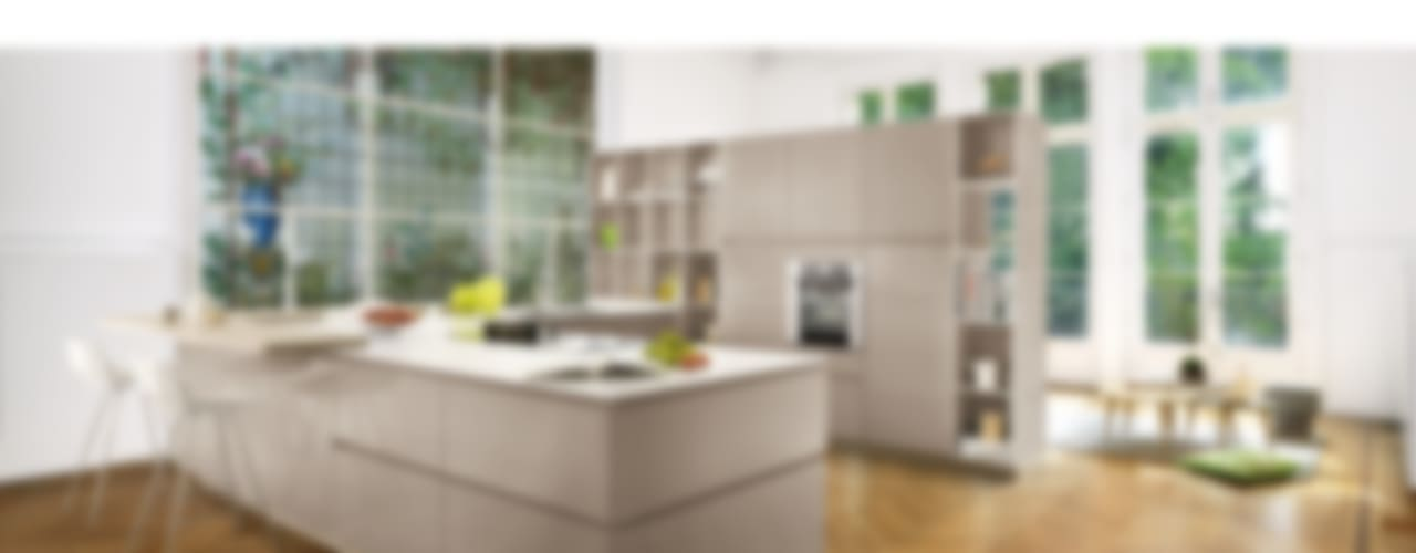 High Gloss Open Plan Kitchen Modern kitchen by Schmidt Kitchens Barnet Modern