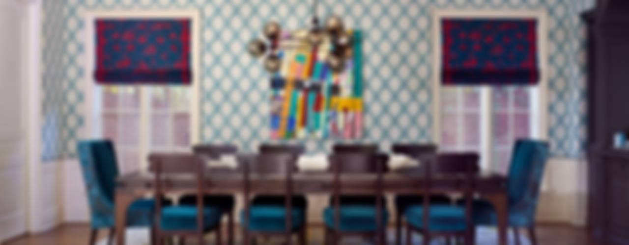 Comedores de estilo ecléctico de Andrea Schumacher Interiors Ecléctico