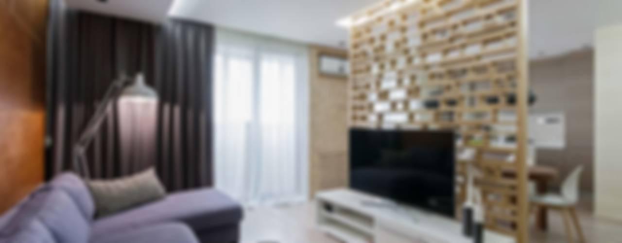 Moderne Wohnzimmer von EUGENE MESHCHERUK | architecture & interiors Modern