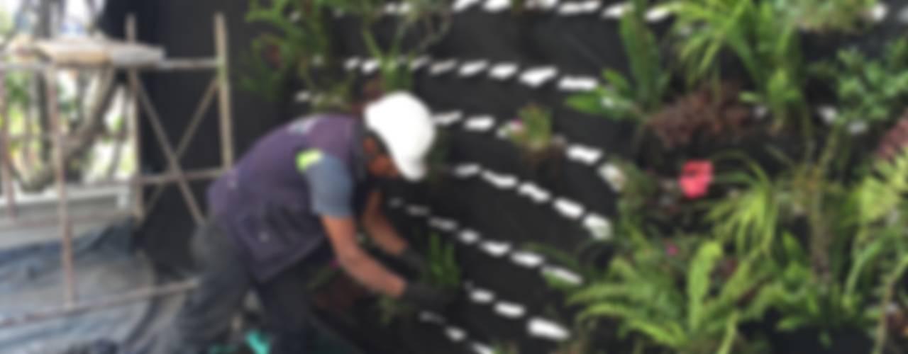 Jardines de estilo  por ESPACIO PENSADO S.A.S,