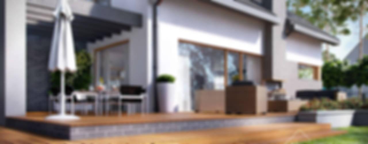Maisons modernes par HomeKONCEPT | Projekty Domów Nowoczesnych Moderne