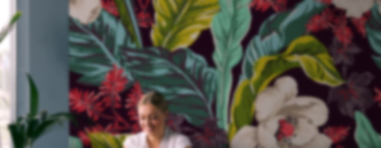 Paredes de estilo  por Pixers, Tropical