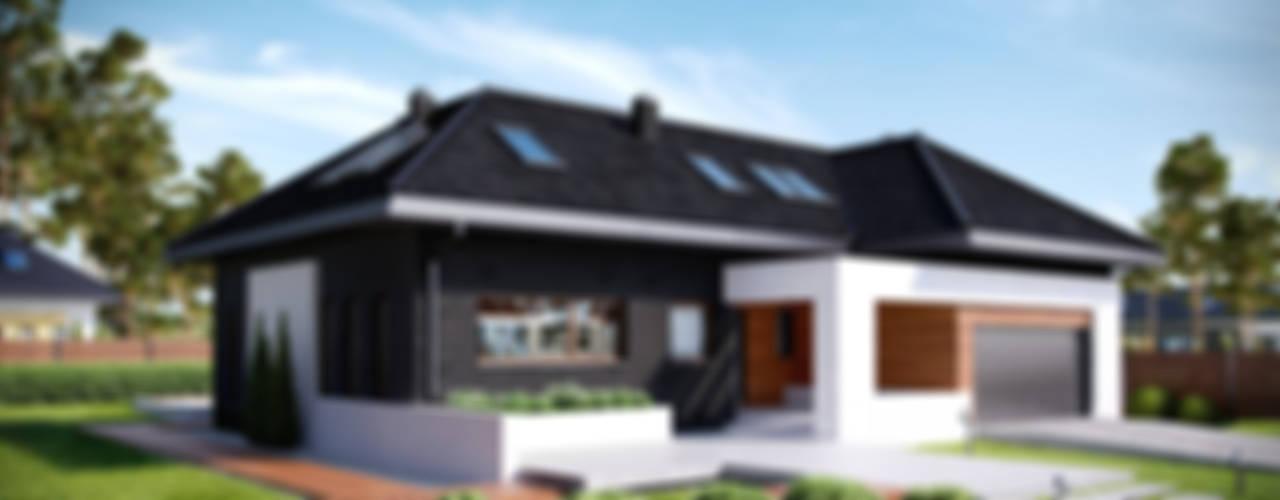 Projekt domu HomeKONCEPT-13: styl , w kategorii Domy zaprojektowany przez HomeKONCEPT | Projekty Domów Nowoczesnych