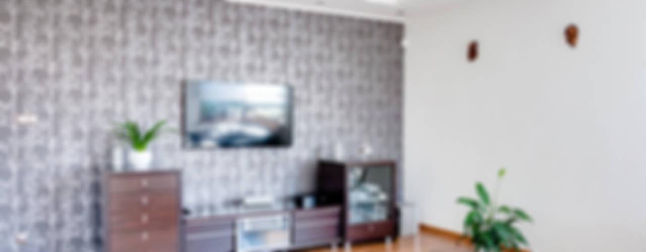 Salon moderne par Biuro Projektów MTM Styl - domywstylu.pl Moderne