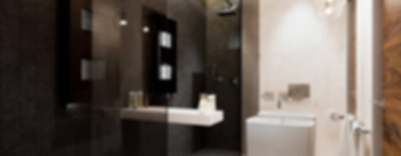 Bathroom by HomeKONCEPT | Projekty Domów Nowoczesnych,