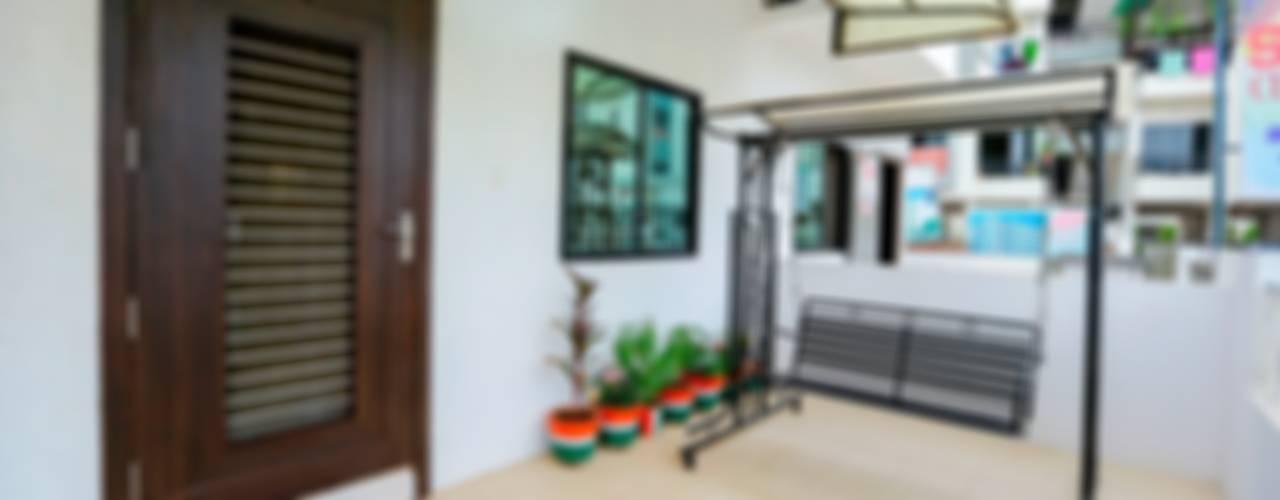 3 BHK Duplex Modern houses by ZEAL Arch Designs Modern