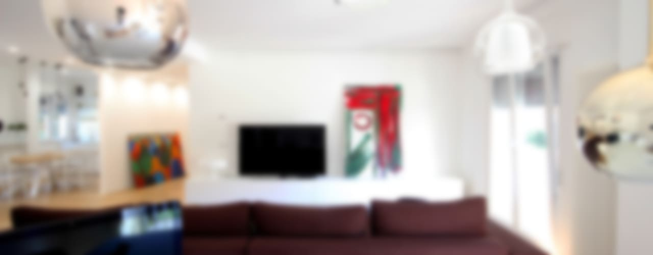 Casa Dash Soggiorno minimalista di Ad'A Minimalista