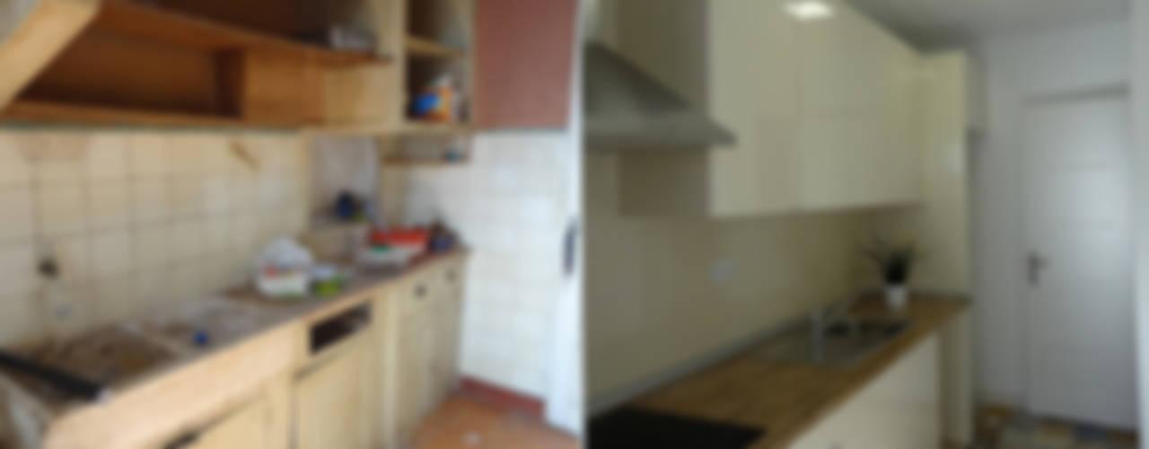 Kitchen by Happy Ideas At Home - Arquitetura e Remodelação de Interiores