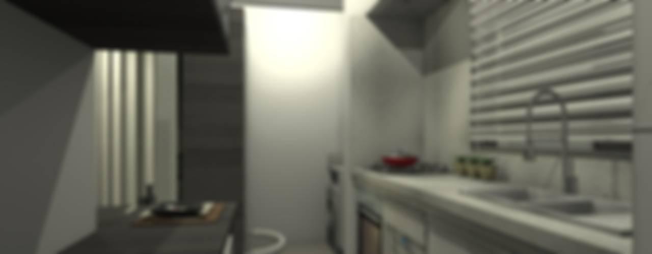 Modern style kitchen by Adriana Beluomini Modern