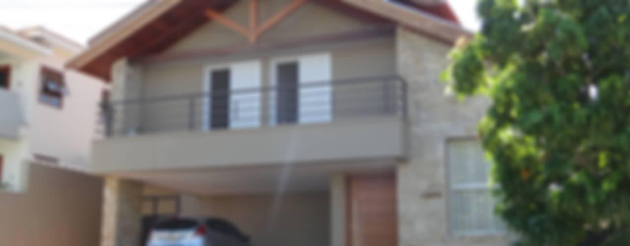 Projekty,  Domy zaprojektowane przez canatelli arquitetura e design