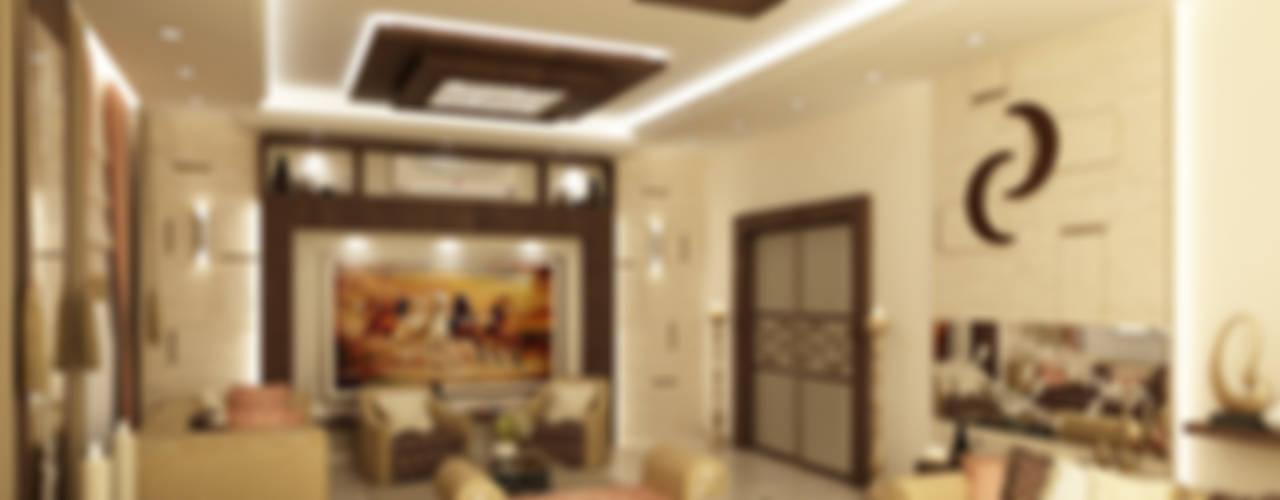 تصاميم داخلية فيلا سكنية (1):   تنفيذ rashaatalla