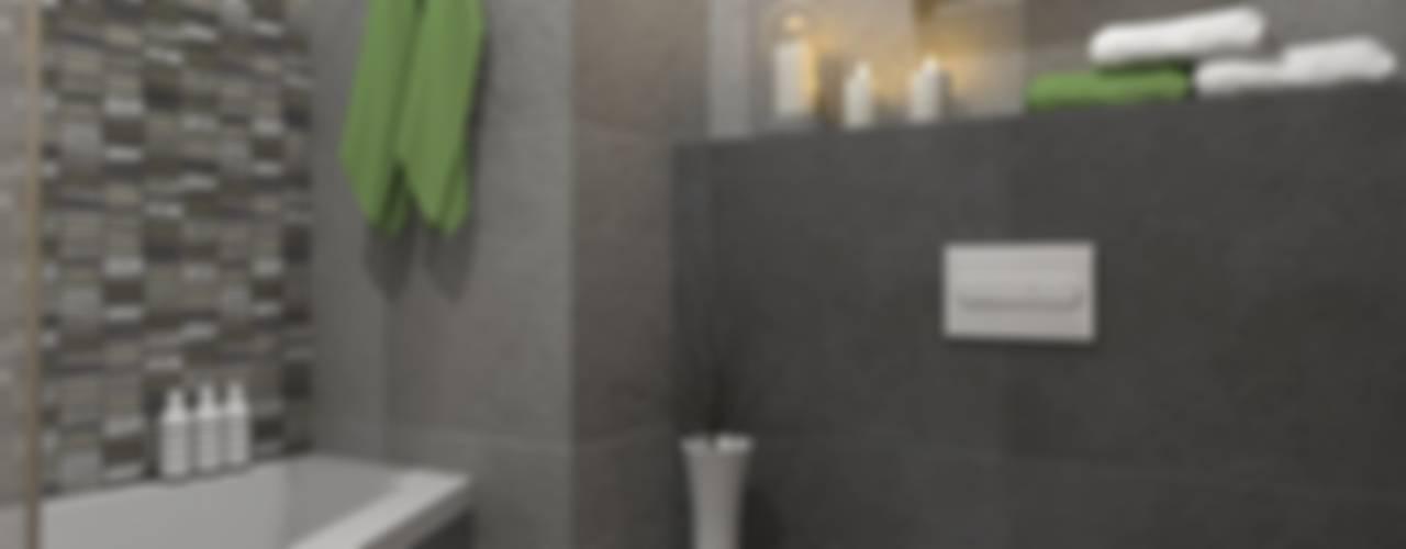 Casas de banho modernas por MONOstudio Moderno