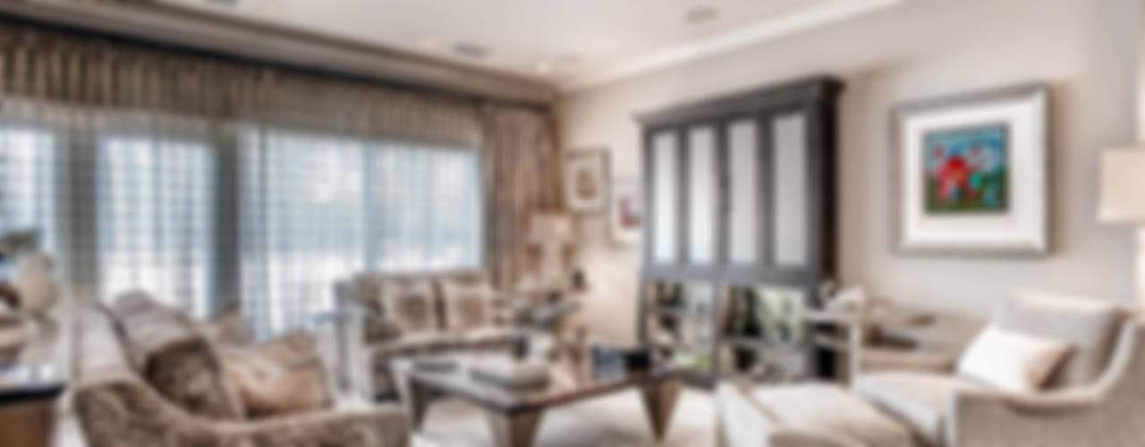 Living room by Studio Design LLC