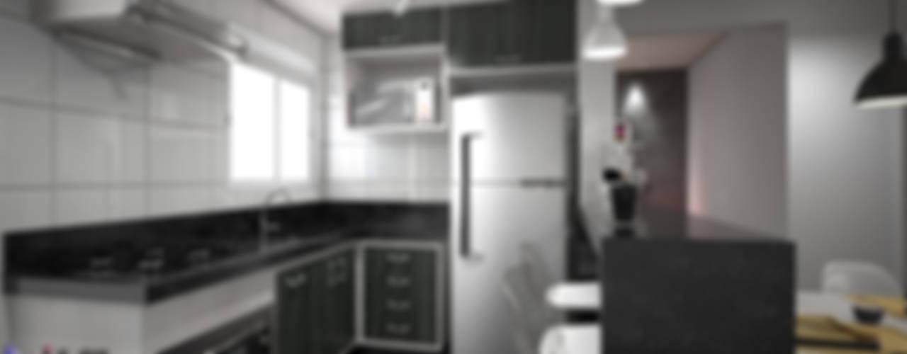 Kitchen by KC ARQUITETURA urbanismo e design