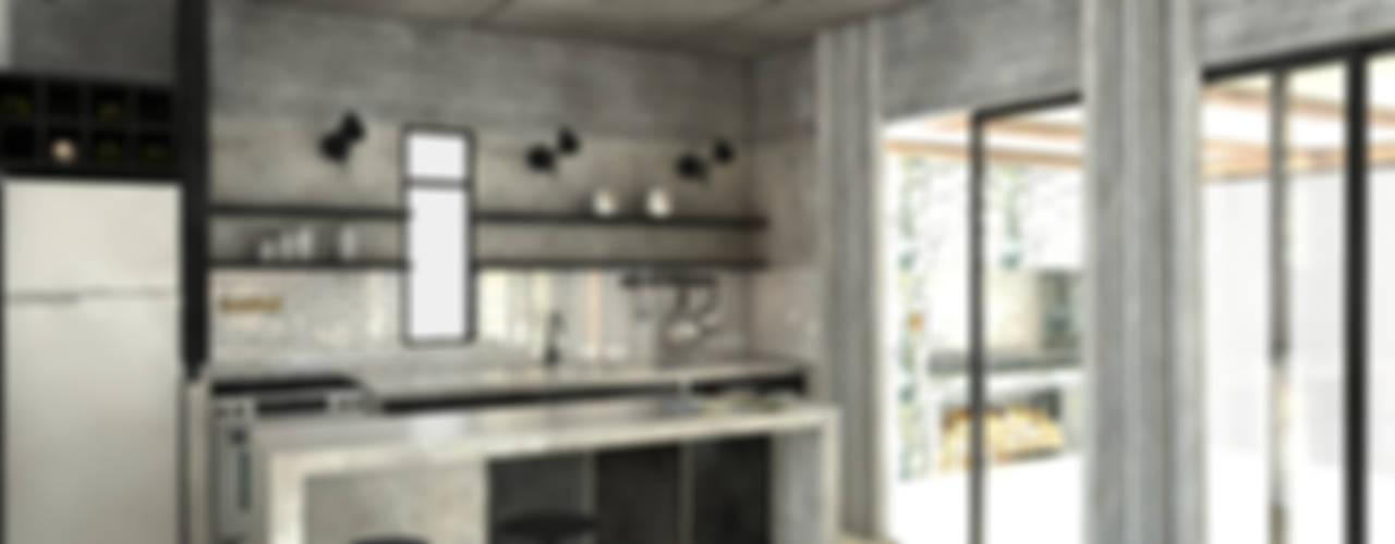 廚房 by FAARQ - Facundo Arana Arquitecto & asoc., 現代風