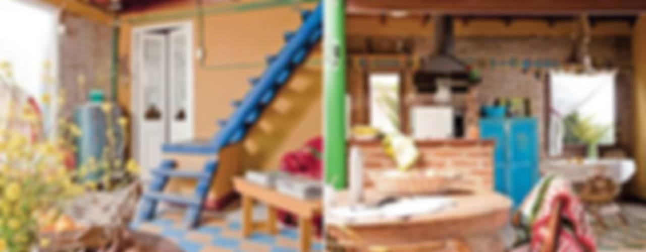 Salas / recibidores de estilo  por Susana Bellotti Arquitectos