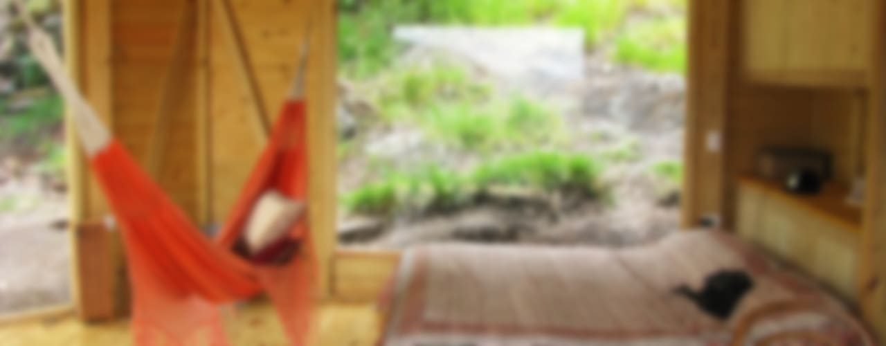 Suite de madera TdE: Habitaciones de estilo  por Taller de Ensamble SAS
